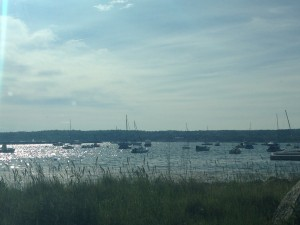 A picture of Gloucester's shoreline, taken when I visited the town with Gerrit Lansing.