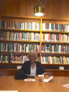 Jean Little visits the Poetry Room