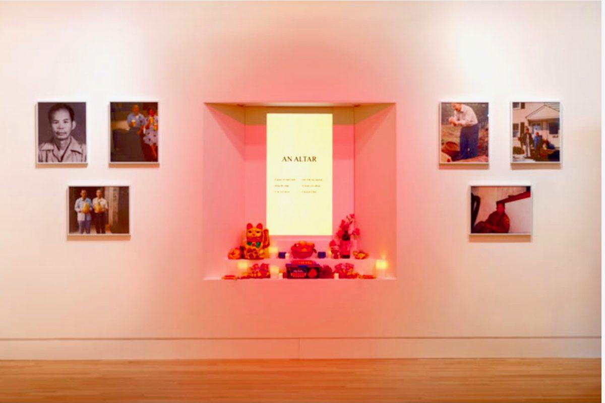Jane Wong installation